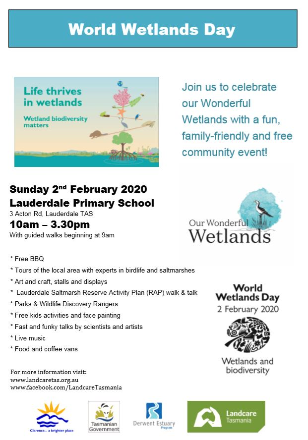World Wetlands Day - South @ Lauderdale Primary School