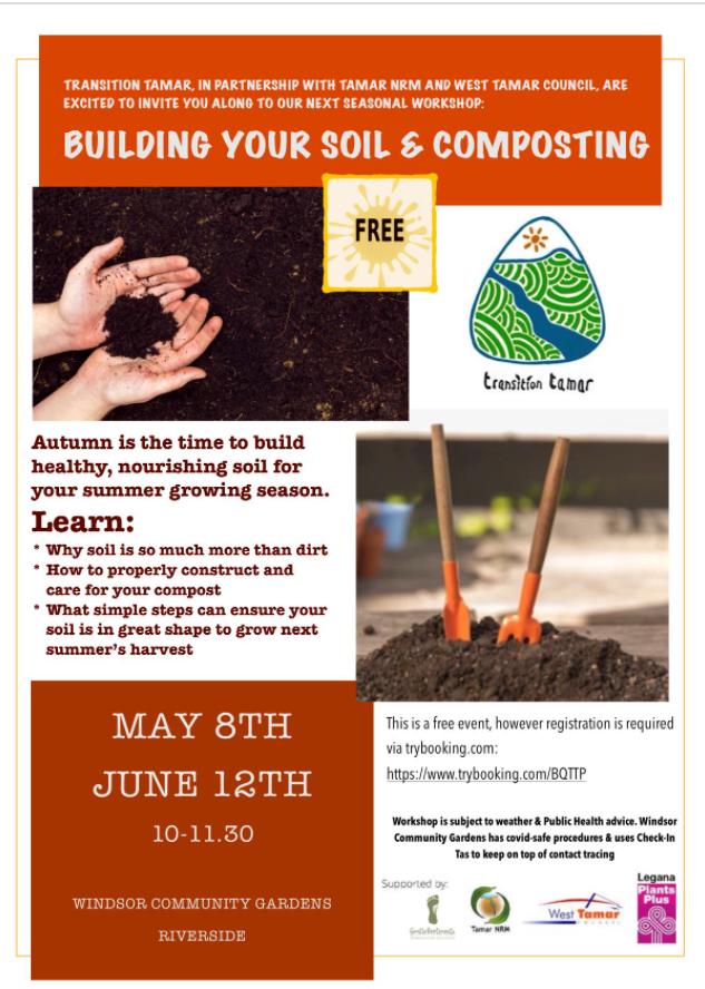 Free Soil & Composting Workshop @ Windsor Community Garden