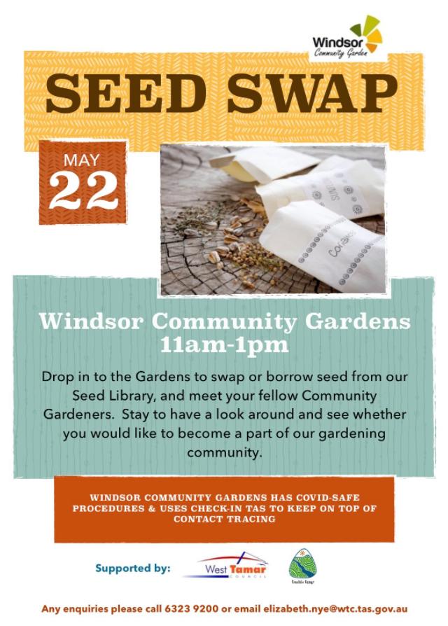 Seed Swap (North) @ Windsor Community Garden
